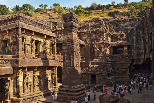 ellora caves temple