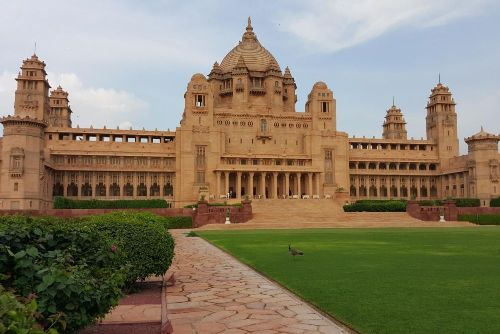 umaid bhawan palace jodhpur india